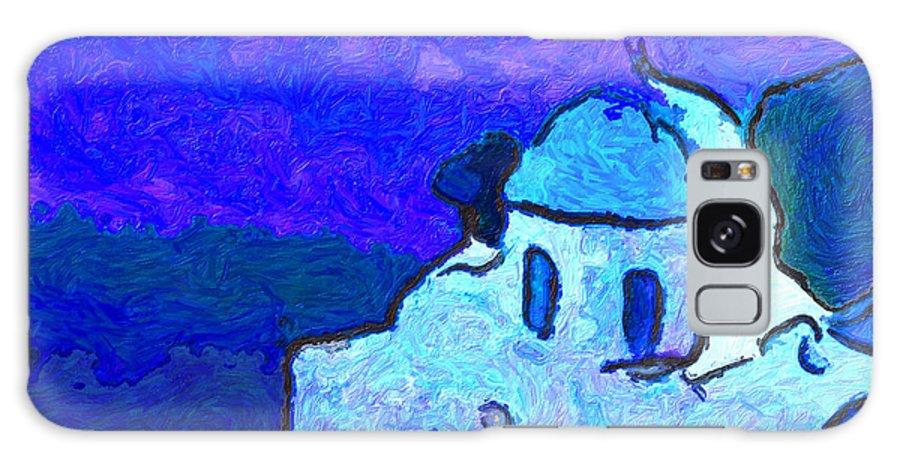 Galaxy S8 Case featuring the digital art Monastary by Philip Dammen