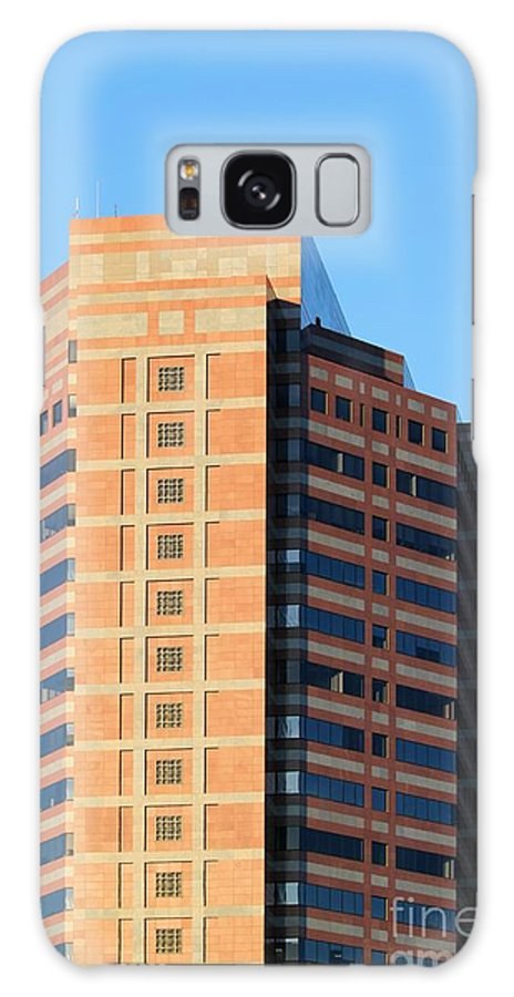 Downtown Galaxy S8 Case featuring the photograph Office Building by Henrik Lehnerer