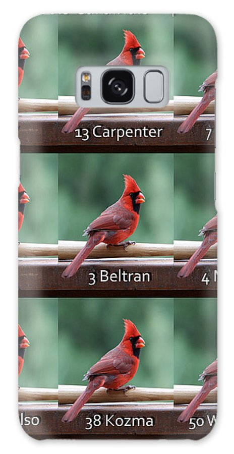 Opening Day Galaxy S8 Case featuring the photograph Opening Day Lineup by John Freidenberg