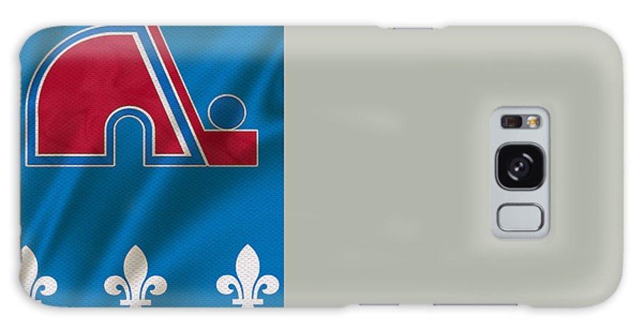 Nordiques Galaxy S8 Case featuring the photograph Quebec Nordiques by Joe Hamilton