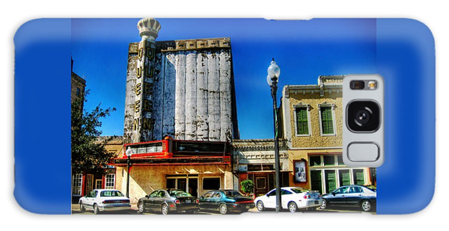 Queen Galaxy S8 Case featuring the photograph Queen Theater by Savannah Gibbs
