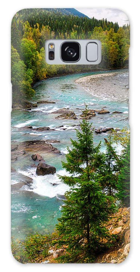British Columbia Galaxy S8 Case featuring the photograph River Views by Brandon Smith