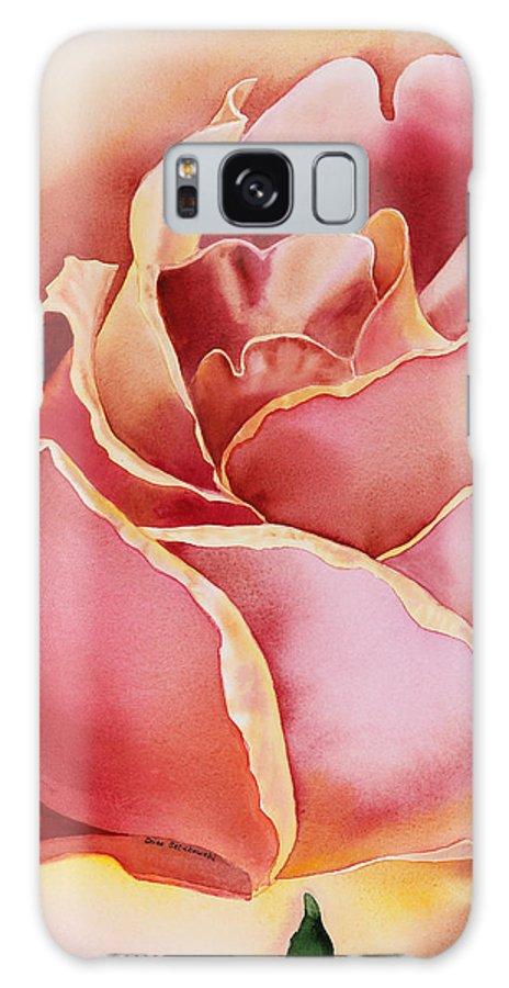 Rose Galaxy S8 Case featuring the painting Rose by Irina Sztukowski