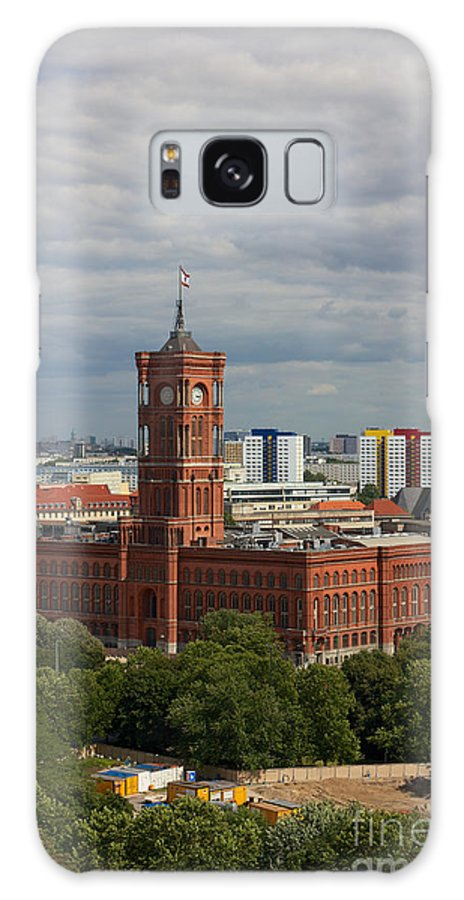 Achitectural Galaxy S8 Case featuring the photograph Rotes Rathaus Berlin by Jannis Werner