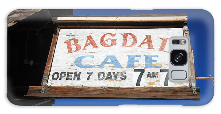 66 Galaxy S8 Case featuring the photograph Route 66 - Bagdad Cafe by Frank Romeo