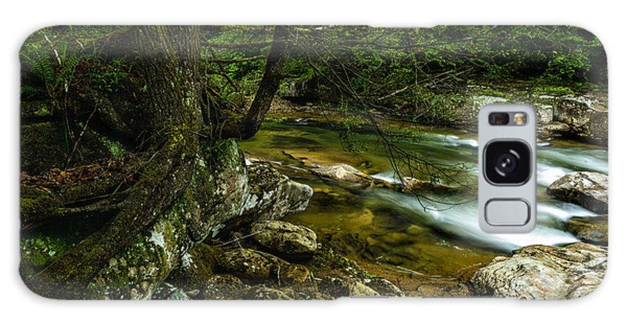 Rushing Mountain Stream Galaxy S8 Case featuring the photograph Rushing Mountain Stream by Thomas R Fletcher