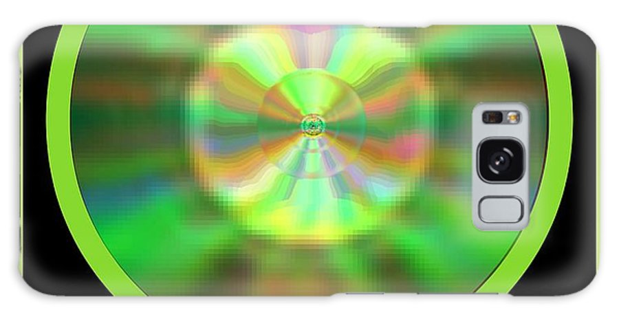 Blessing Galaxy S8 Case featuring the digital art Shine by Meiers Daniel