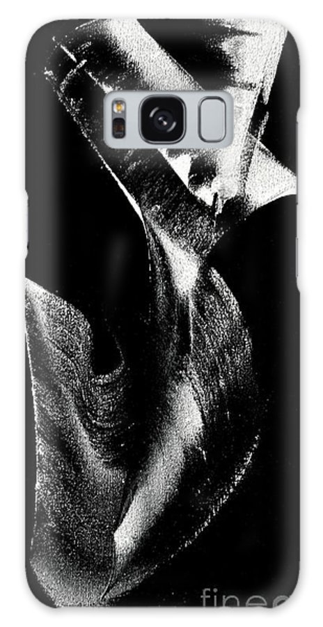 Newel Hunter Galaxy S8 Case featuring the painting Smooth Landing by Newel Hunter