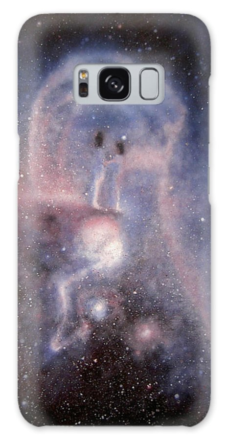 People Galaxy S8 Case featuring the painting Star Couple by Min Zou