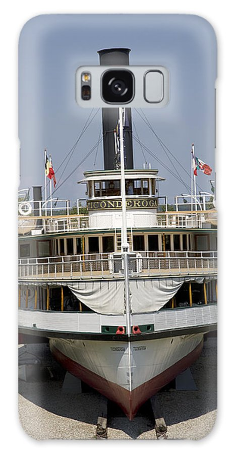 Vertical Galaxy S8 Case featuring the photograph Steamboat Ticonderoga by Jim Wallace