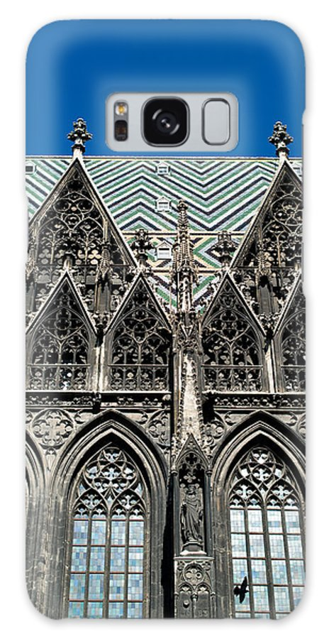 St. Stephan Galaxy S8 Case featuring the photograph St.stephan Cathedral - Vienna - Austria by Frank Gaertner