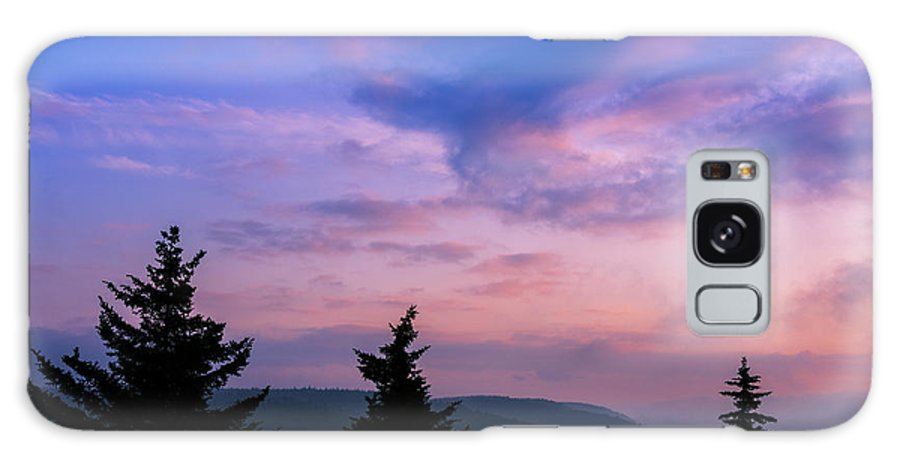 Summer Solstice Galaxy S8 Case featuring the photograph Summer Solstice Sunrise Highland Scenic Highway by Thomas R Fletcher