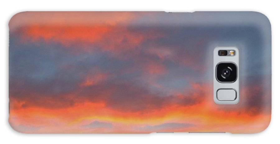 Sunset Galaxy S8 Case featuring the photograph Sunset Hesperia California November 11 2014 Usa Veterans Day Holiday Us by Julie Doerges