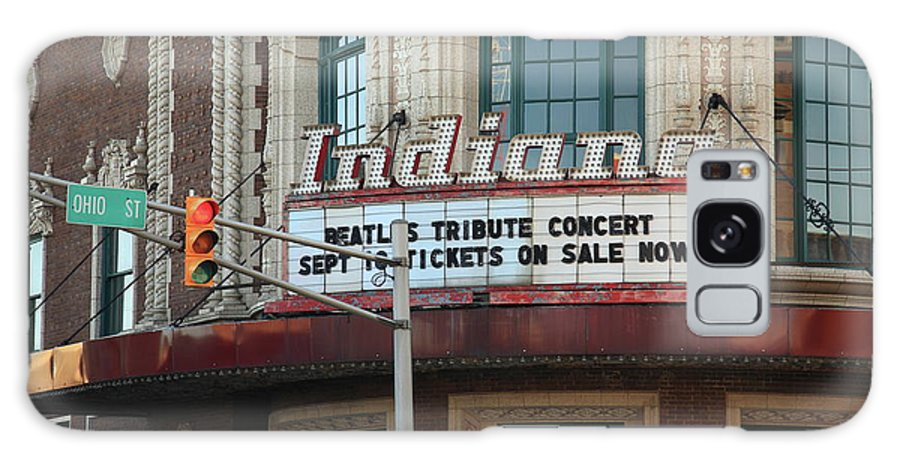 America Galaxy S8 Case featuring the photograph Terre Haute - Indiana Theater by Frank Romeo