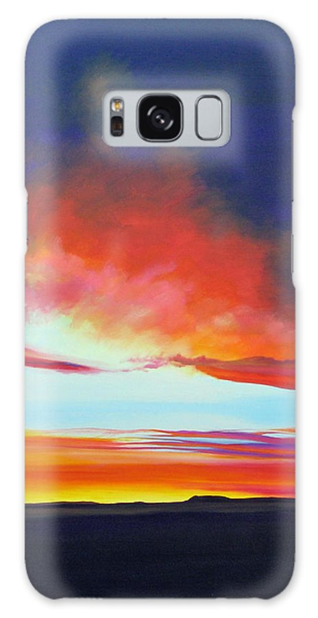 Landscape Galaxy Case featuring the painting The Long Way Home by Hunter Jay