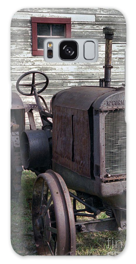 Farm Tractor Galaxy S8 Case featuring the photograph The Old Mule by Richard Rizzo