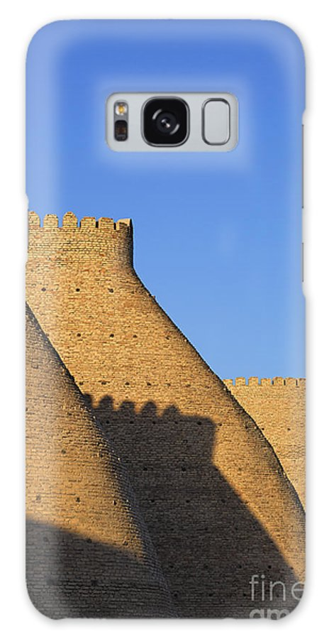 Bukhara Galaxy S8 Case featuring the photograph The Walls Of The Ark At Bukhara In Uzbekistan by Robert Preston