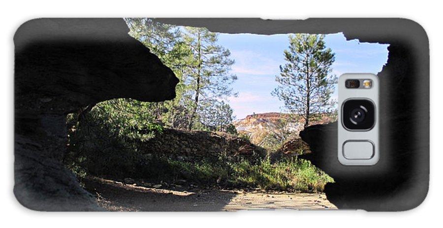 Through Galaxy S8 Case featuring the photograph Through - Rio Tinto by Chani Demuijlder