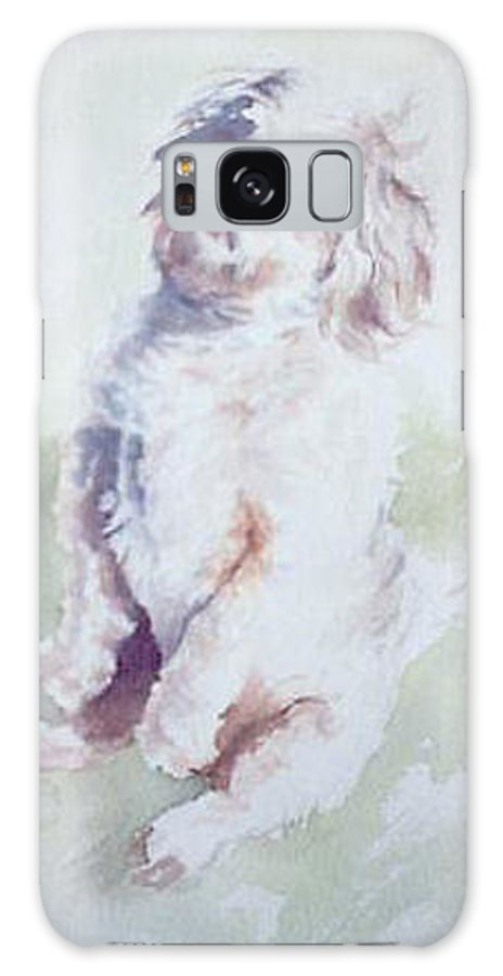 Dog Galaxy S8 Case featuring the painting Untitled by Philip Fleischer