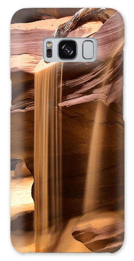 Slot Canyon Galaxy S8 Case featuring the photograph Upper Antelope Canyon by Diana Powell
