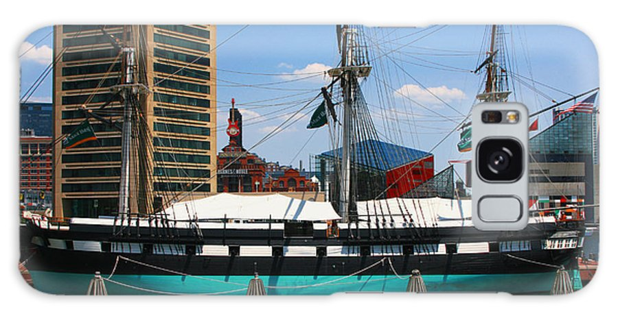 Uss Constellation Galaxy S8 Case featuring the photograph Uss Constellation by Andy Lawless