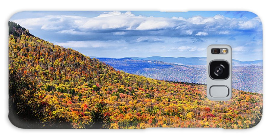 Fall Galaxy S8 Case featuring the photograph View Along The Highland Scenic Highway by Thomas R Fletcher