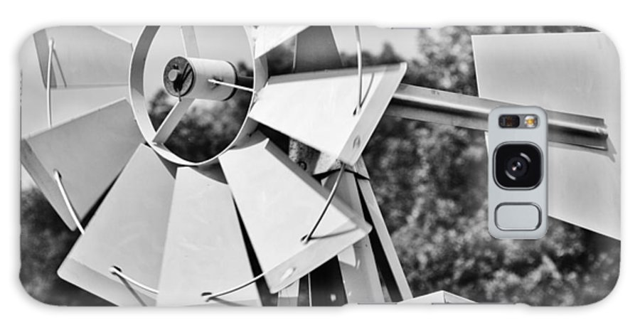 Black Galaxy S8 Case featuring the photograph Windmill by Christopher Hoffman