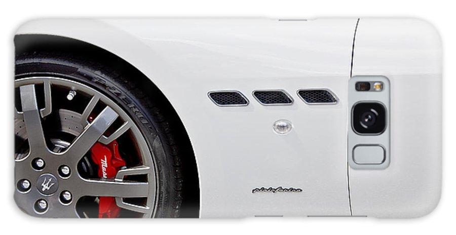 Italian Cars Galaxy S8 Case featuring the photograph 2012 Maserati Gran Turismo S by Rich Franco