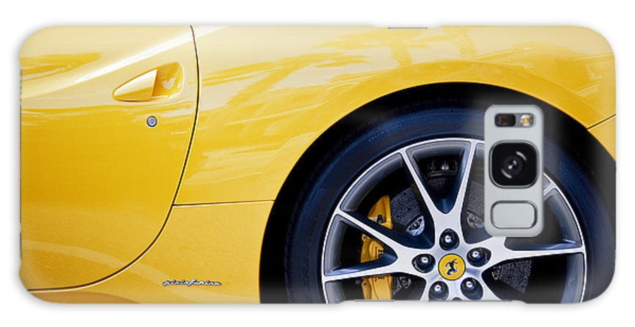 Ferrari Galaxy S8 Case featuring the photograph 2013 Ferrari by Rich Franco