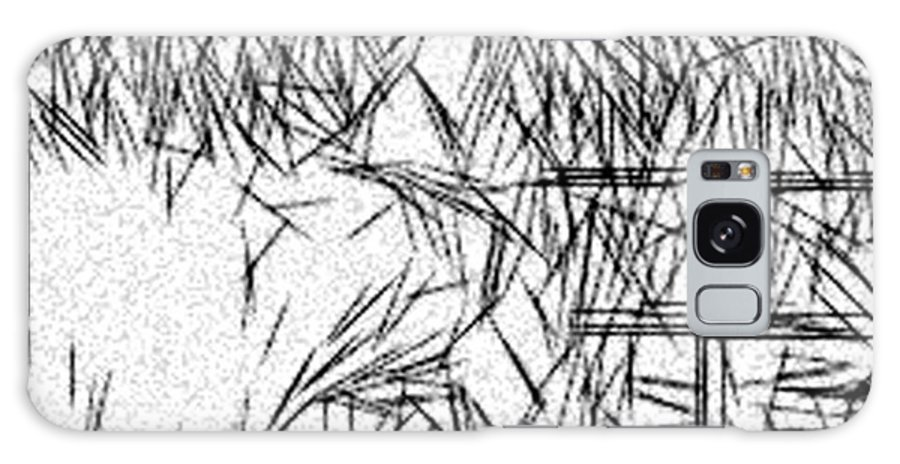 Jonathan Harnisch Galaxy S8 Case featuring the drawing Abstraction by Jonathan Harnisch
