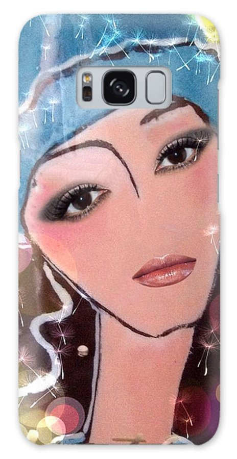 Pikotine Galaxy S8 Case featuring the painting Pikotine Art by Pikotine Art