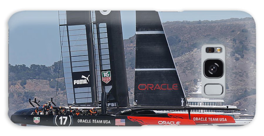 America's Galaxy S8 Case featuring the photograph America's Cup Oracle by Steven Lapkin