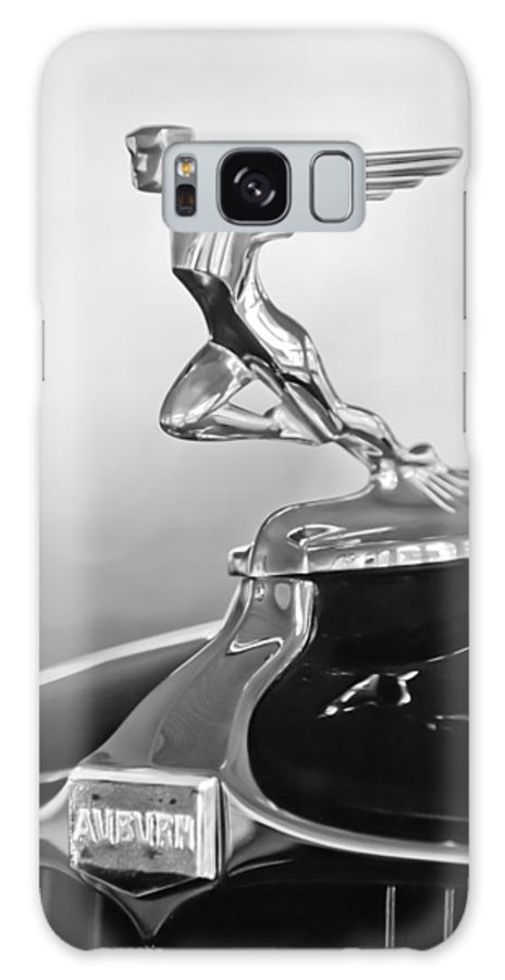 1932 Auburn 12-160 Speedster Hood Ornament Galaxy S8 Case featuring the photograph 1932 Auburn 12-160 Speedster Hood Ornament by Jill Reger