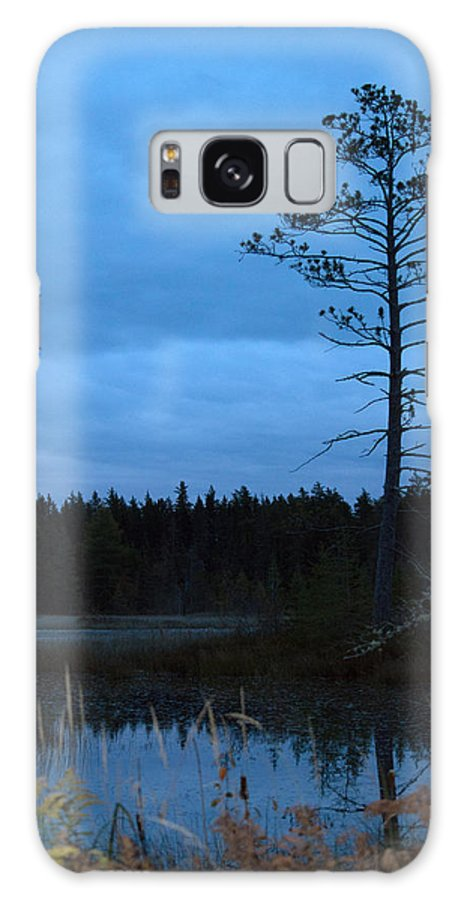 Nature Galaxy S8 Case featuring the photograph Blue by Linda Kerkau