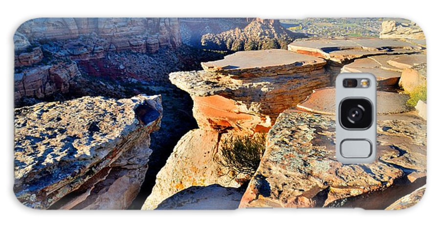 Colorado National Monument Galaxy S8 Case featuring the photograph Cold Shivers by Ray Mathis
