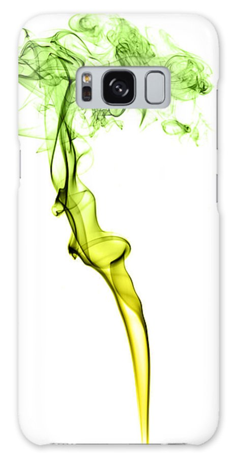 Smoke Galaxy S8 Case featuring the photograph Colourful Smoke by Samuel Whitton