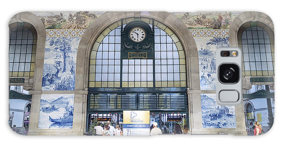 Architecture Galaxy S8 Case featuring the photograph Dom Luis Bridge Porto Portugal by Jacek Malipan