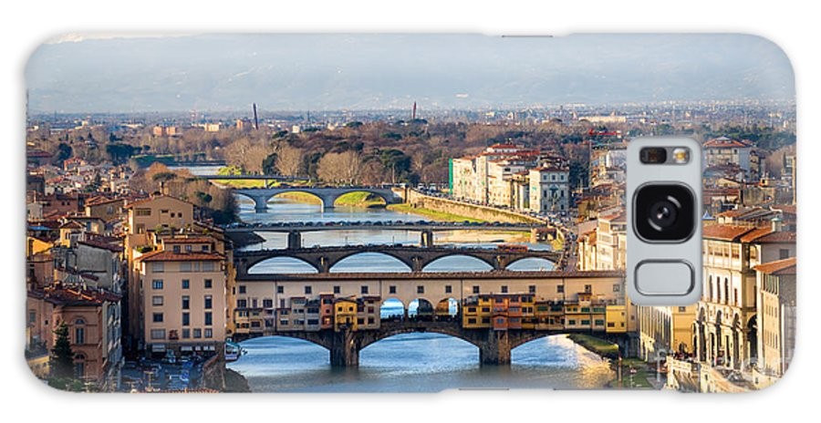 Arch Galaxy S8 Case featuring the photograph Florence by Luciano Mortula