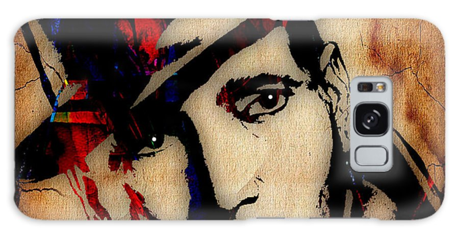Humphrey Bogart Galaxy S8 Case featuring the mixed media Humphrey Bogart Collection by Marvin Blaine
