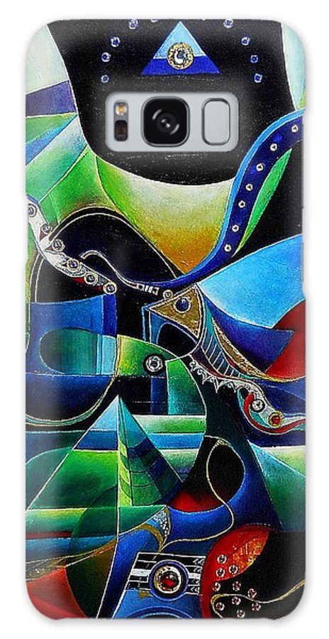 Joseph Galaxy S8 Case featuring the painting Joseph In Egypt by Wolfgang Schweizer