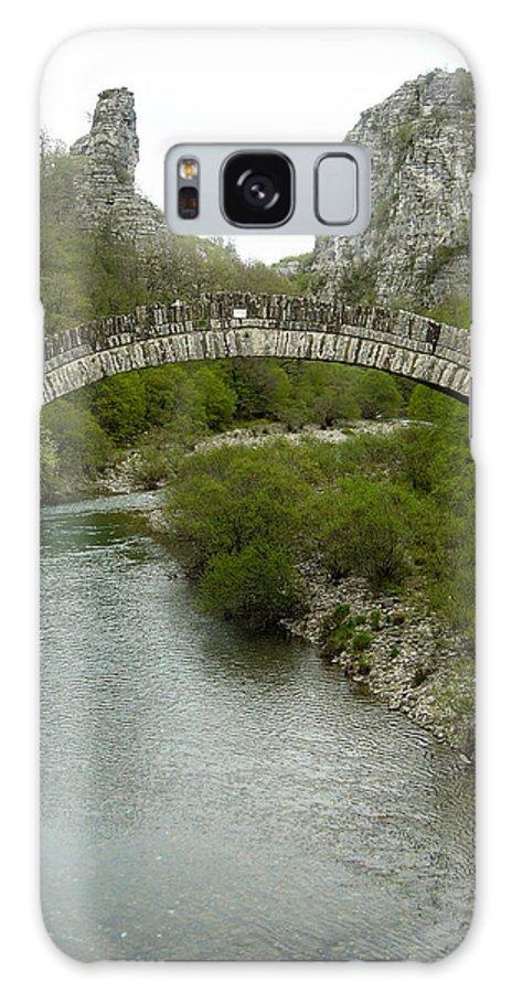 Stonebridge Galaxy S8 Case featuring the photograph Konitsa Stonebridge by Panos Spiliadis