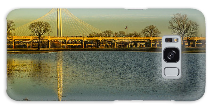 Landscapes Galaxy S8 Case featuring the photograph Margaret Hunt Hill Bridge by Tinjoe Mbugus
