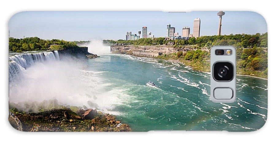 Niagara Falls Galaxy S8 Case featuring the photograph Niagara Falls by Meegan Streeter