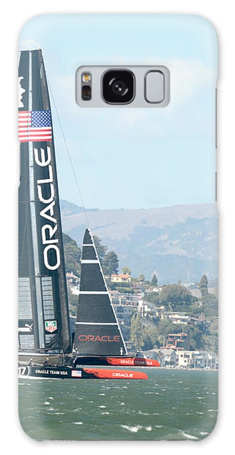 9-25-2013 Galaxy S8 Case featuring the photograph Oracle Team Usa by Gary Hromada