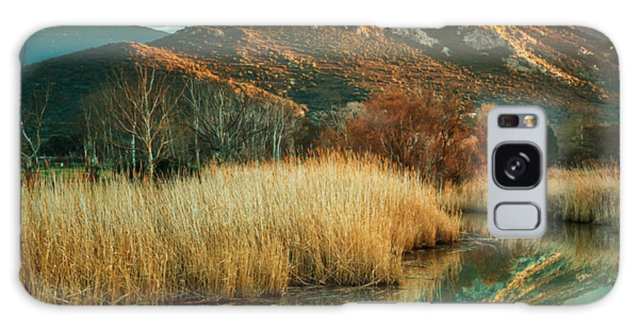 Balagne Galaxy S8 Case featuring the photograph Reginu River And Punta Di Paraso by Jon Ingall