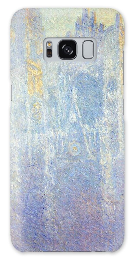 Art Galaxy S8 Case featuring the painting Rouen Cathedral by Claude Monet