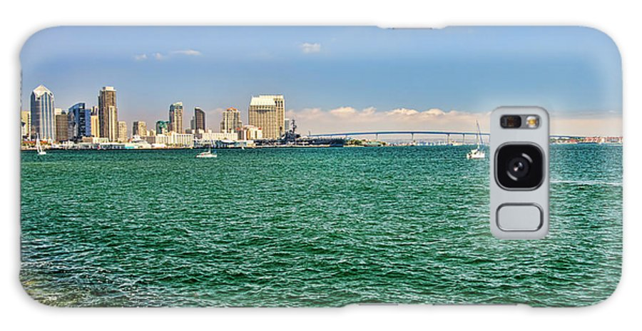 San Diego Galaxy S8 Case featuring the photograph San Diego Bay by Keith Ducker