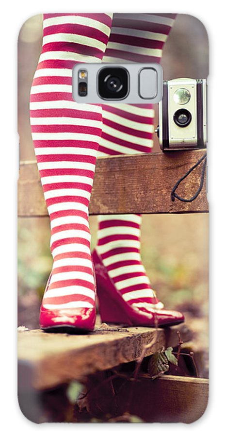 Adult Galaxy S8 Case featuring the photograph Stripy Legs by Innershadows Photography