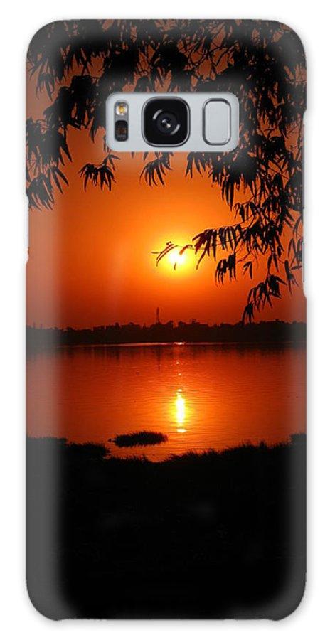 Nature Galaxy S8 Case featuring the photograph Sunset by Pradip kumar Paswan