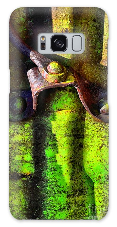 Abstract Galaxy S8 Case featuring the photograph Synapse by Lauren Leigh Hunter Fine Art Photography